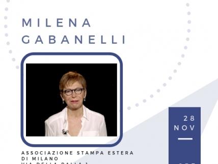 Aperitivo talk con Milena Gabanelli