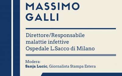 Massimo Galli, Direttore/Responsabile malattie infettive L.Sacco